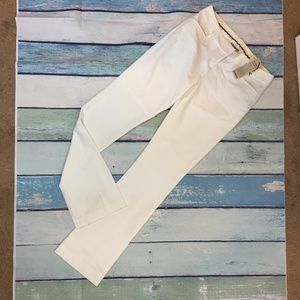 Express Women's White Columnist Barely Boot Pant 2